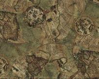 карта коричневая
